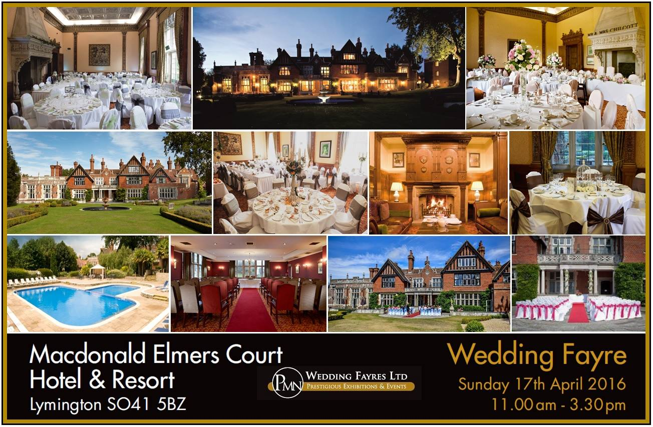 Sunday 17th April ~ Elmers Court Wedding Fayre
