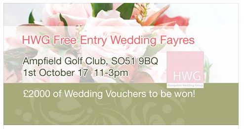 The Hampshire Wedding Group at Ampfield Golf Club this Sunday