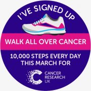 Good Friday, Walk All Over Cancer Challenge.